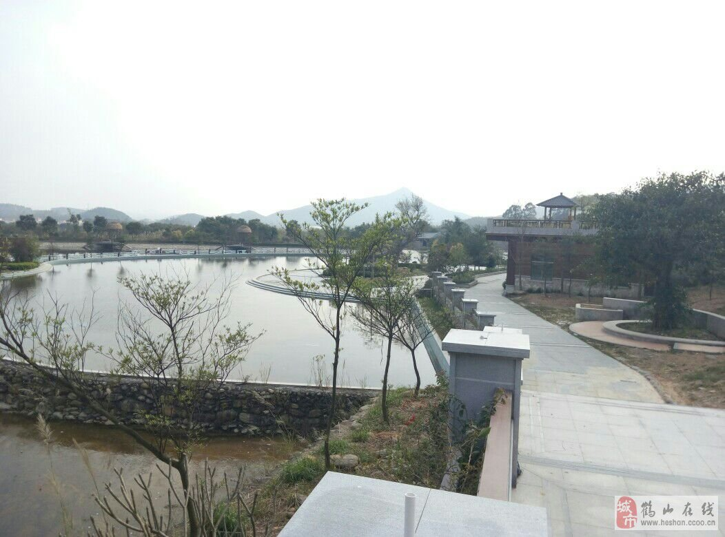 鹤山鹤城马耳山旅游景点之一