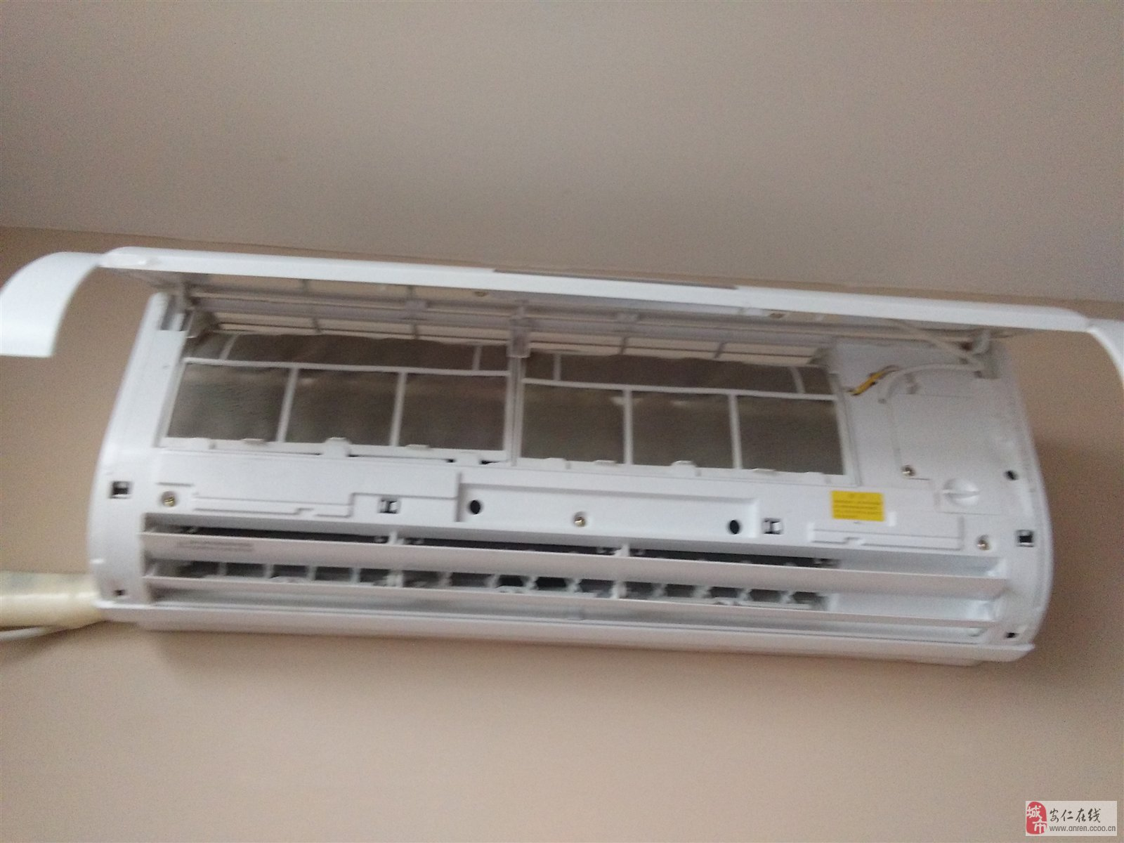 空调室内机过滤网清洗步骤
