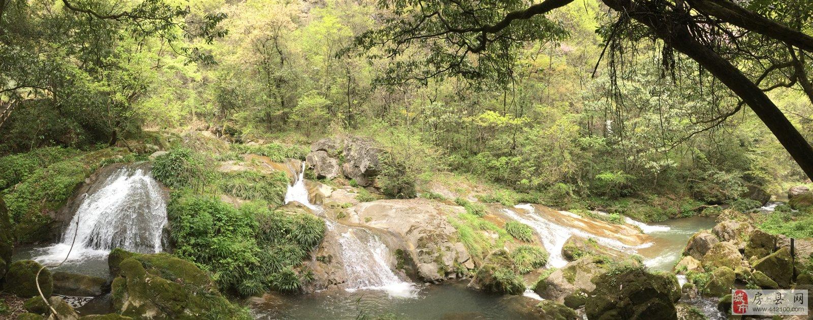 中国房县野人谷风景