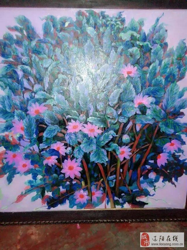 花卉外墙彩绘图片素材