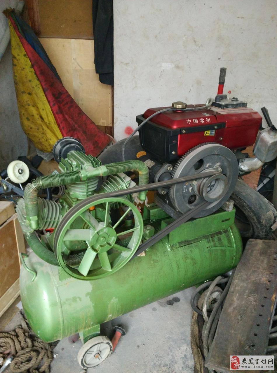 柴油机空压机出售图片
