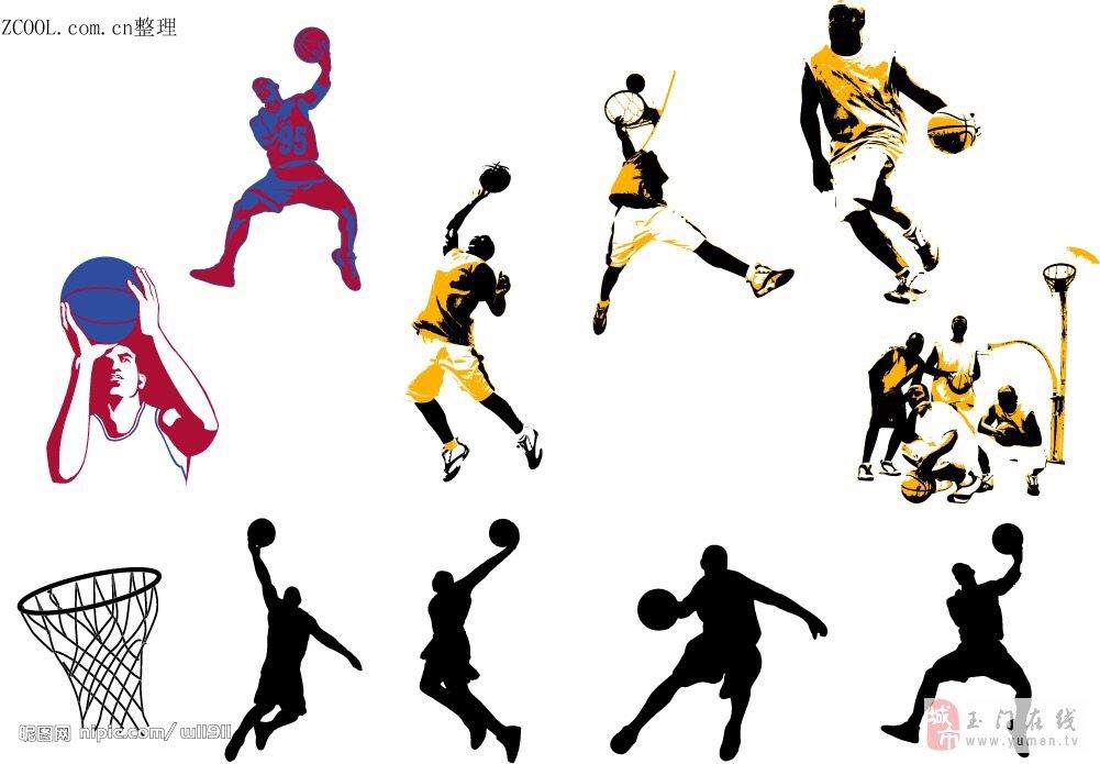 篮球教练 矢量图