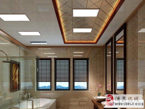 客厅二级吊顶安装,扶手围栏安装