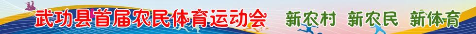 武功县首届农民体育运动会