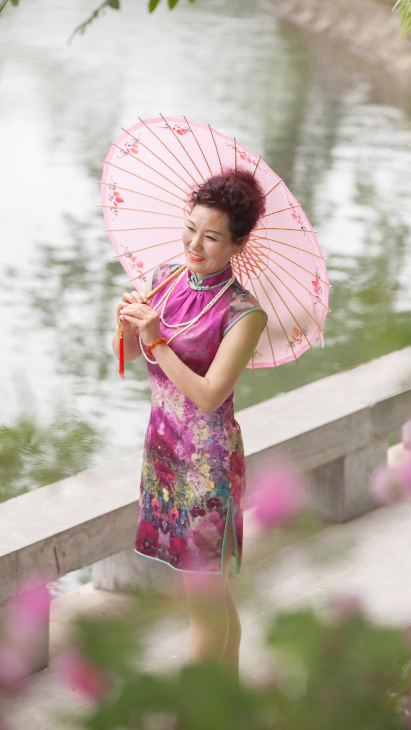 旗袍写真图片