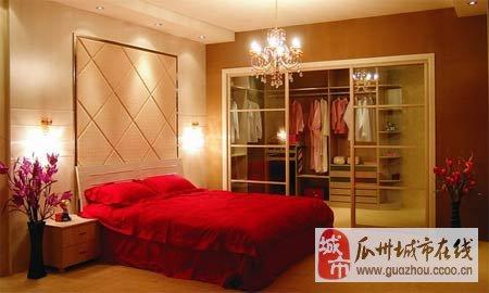 一个甜蜜的婚房卧室能为你们的爱情加分