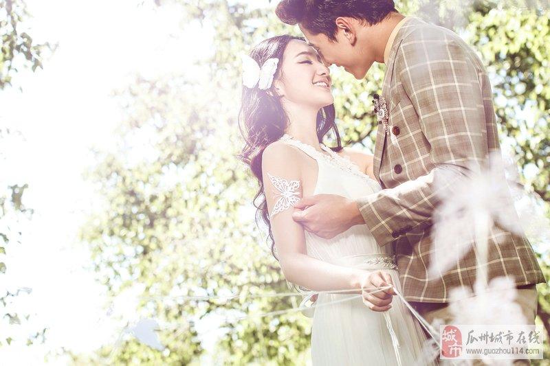 如何拍出自然唯美的婚纱照?
