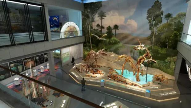 莱阳白垩纪国家地质公园博物馆