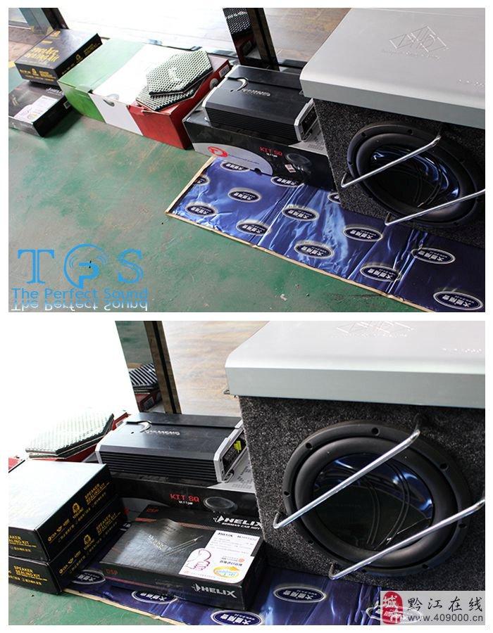 重庆奔驰ml350(主机 喇叭 功放 低音)音响升级 隔音降噪