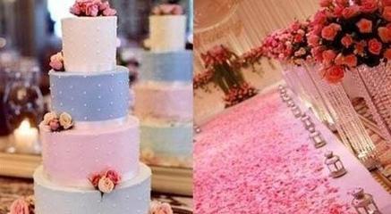 唯美婚礼布置细节