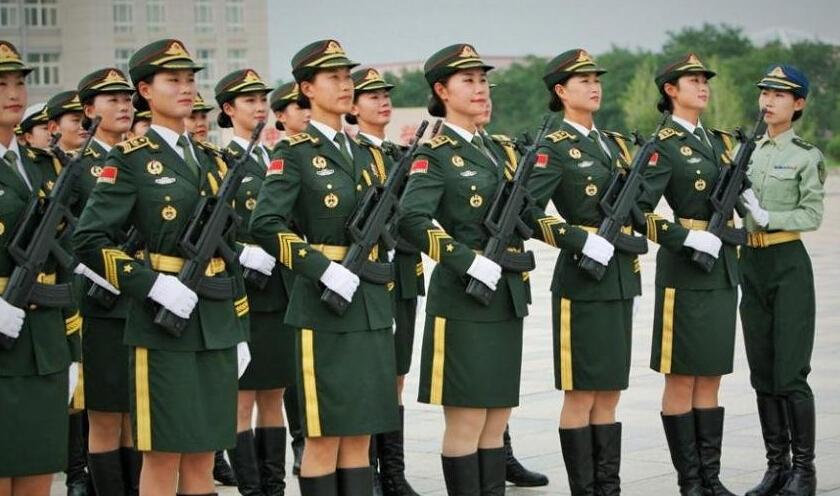 女兵操练舞曲谱