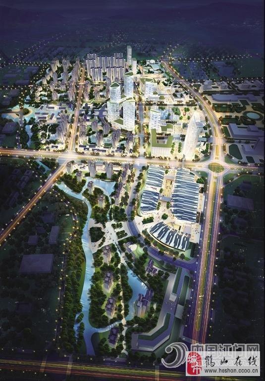 一方面,在鹤山沙坪东部新城区,已经拥有比启动区更好的人口基础,城市