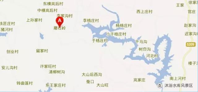 石岭风景区地图
