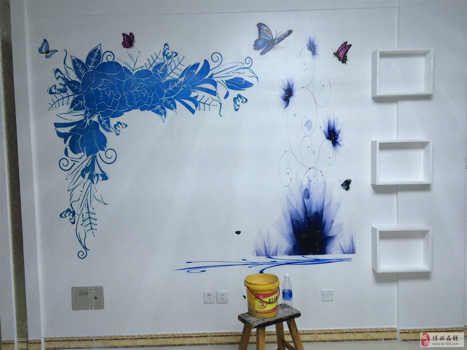 中科美创墙体彩绘