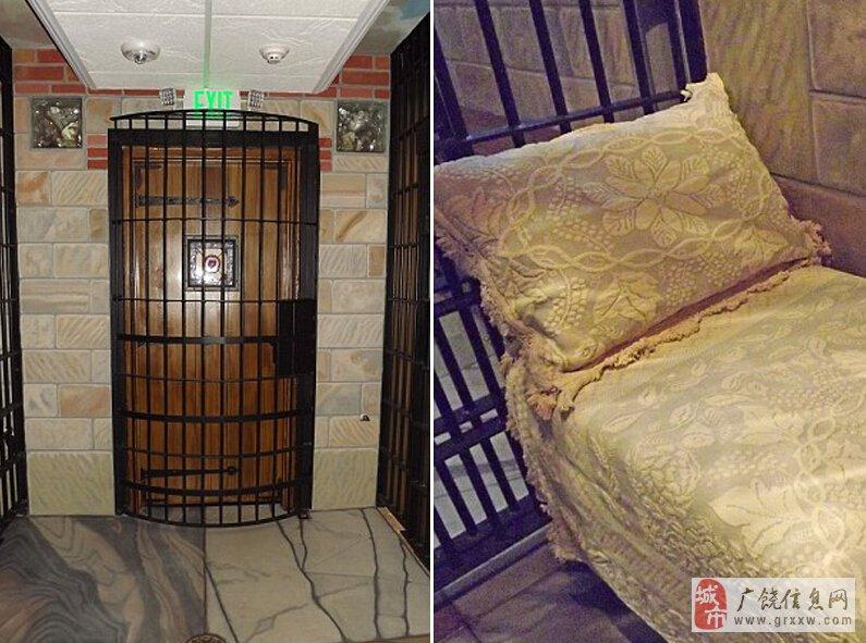 美国监狱被改造成旅馆 客人在复古牢房中过夜(组图)