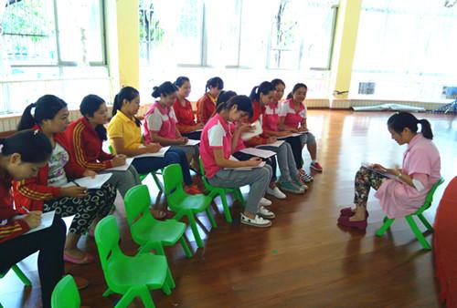 9月24日,广汉市澳贝幼儿园开展意外伤害急救知识培训