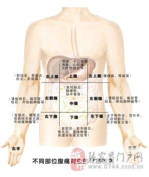 后背刺痛部位图解
