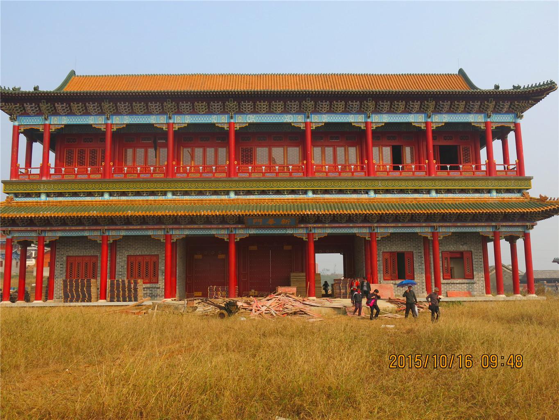 滁州市长城影视城——二期建设风景