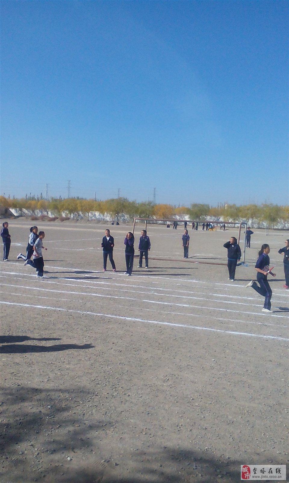 金塔县第二届师生阳光体育运动会初中学校赛区在第三
