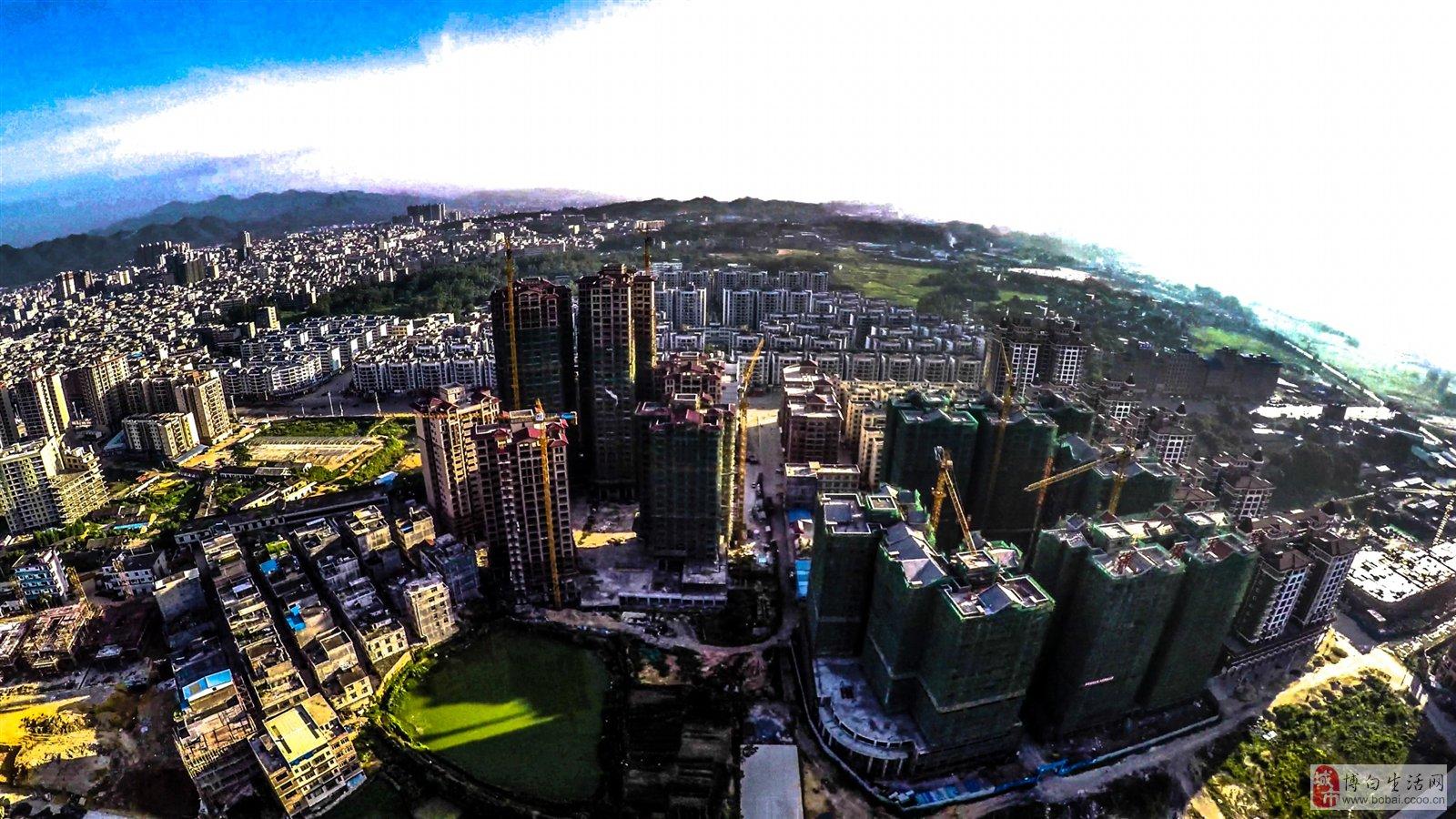 县城风景图片