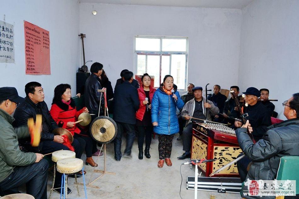 秦安乡村舞台舞出农民的精气神