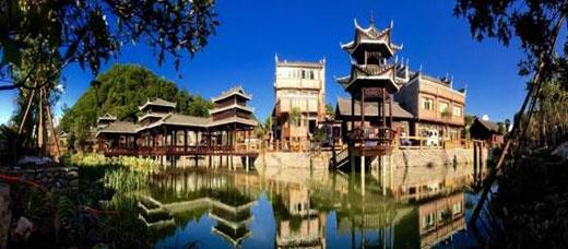 旅游名城服务基地,属于麻江下司—宣威蓝莓文化产业