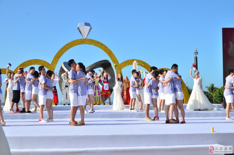 2015第十九届中国?三亚天涯海角国际婚庆节今天隆重开幕