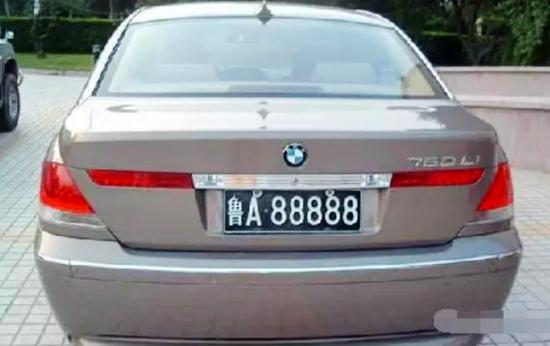 青岛汽车牌照图片