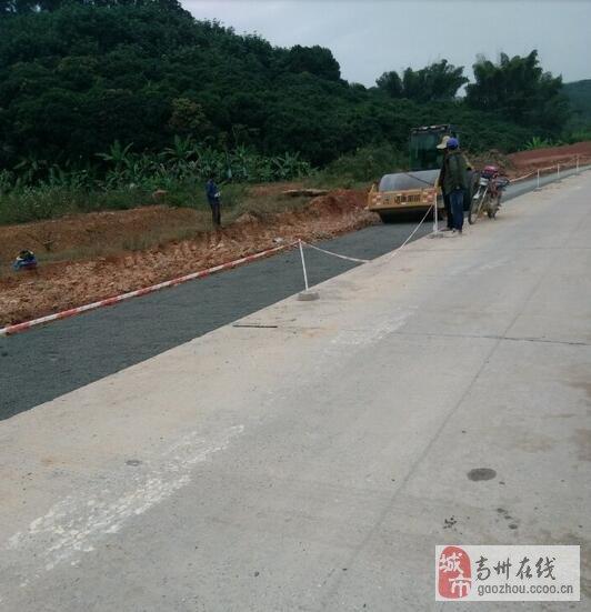 高州省道283线南塘至石板公路开工改造
