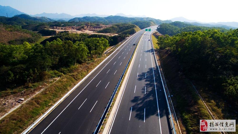 潮惠高速公路一期通车联合采访座谈会在希桥召