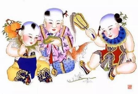 新年好!一大波年画来袭~~这些胖娃娃年画,有没有勾起你童年的回忆!
