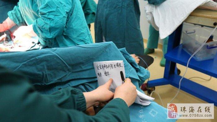 三峡大学仁和医院产科病房里聋哑妈妈剖宫产女