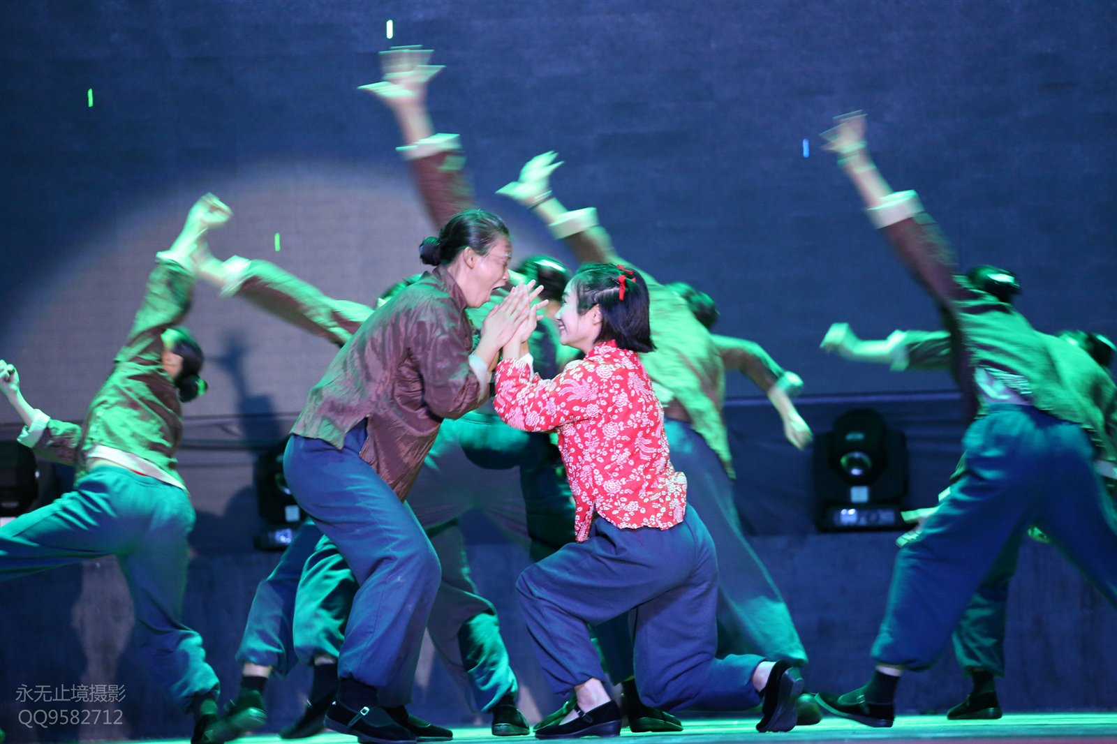 【舞台摄影】琼海市第七届中学生文化艺术节舞蹈专场全记录(多图)图片