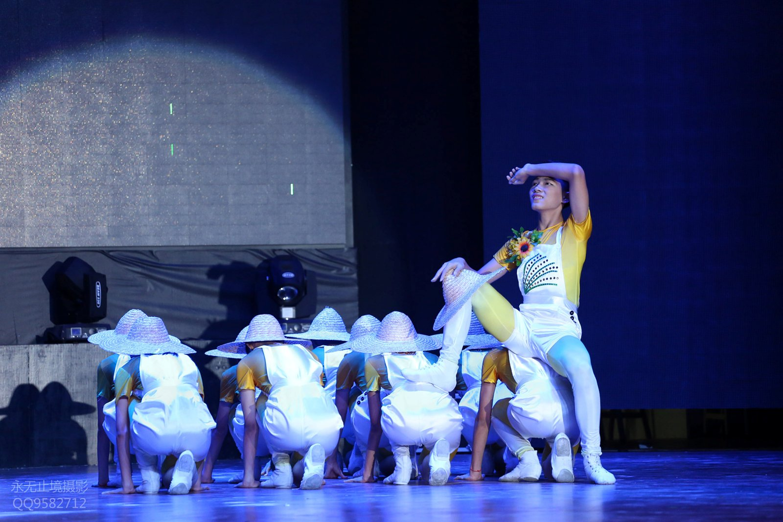 【舞台摄影】琼海市第七届中学生文化艺术节舞蹈专场全记录(多图)