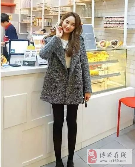 韩国女孩冬季穿衣搭配