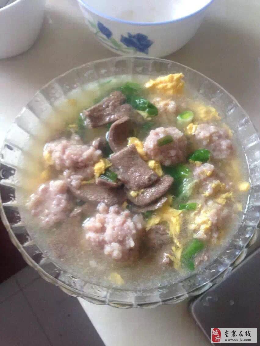 舌尖上的美味――金寨特色美食肉圆猪肝汤,看着流口水!