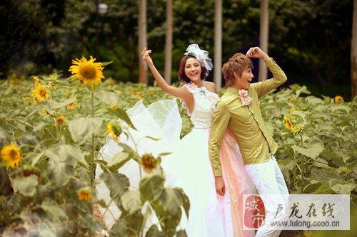 最经典的婚纱照姿势