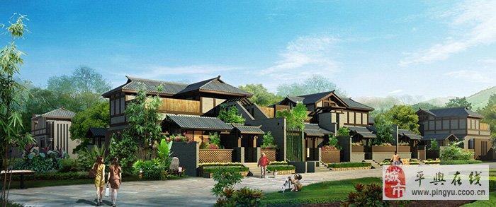 苏州风情园完美演绎江南风情,引领平舆地产标杆