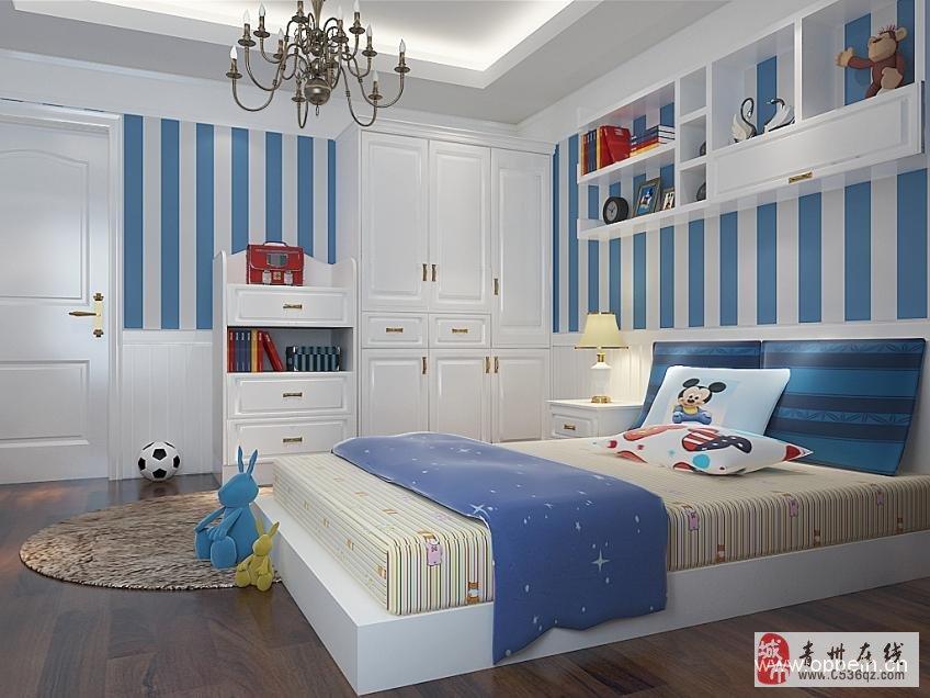 女孩子卧室装修效果图-花的海洋