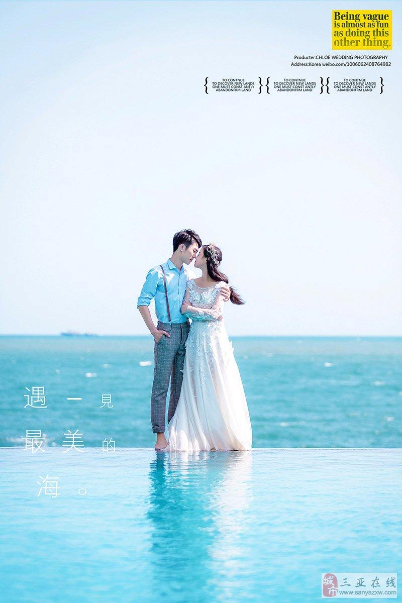 拍摄韩式婚纱照该如何选礼服