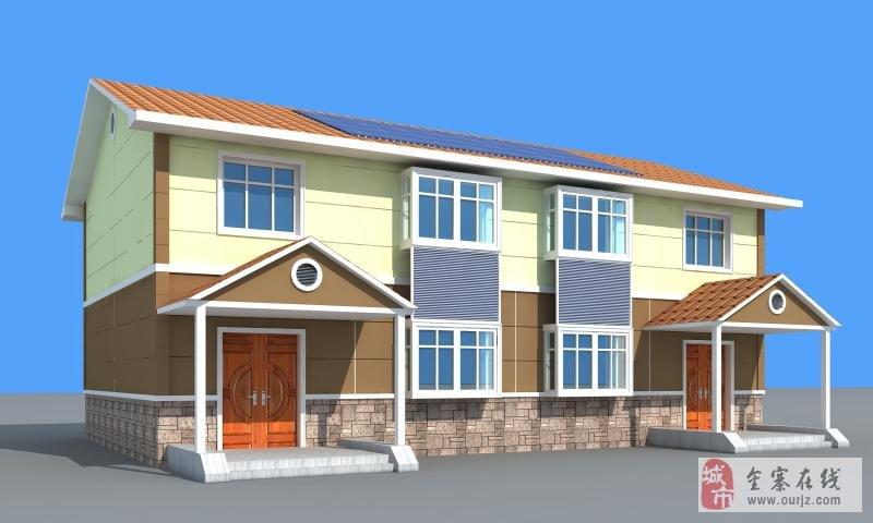 经济实用的新型轻钢结构高端别墅