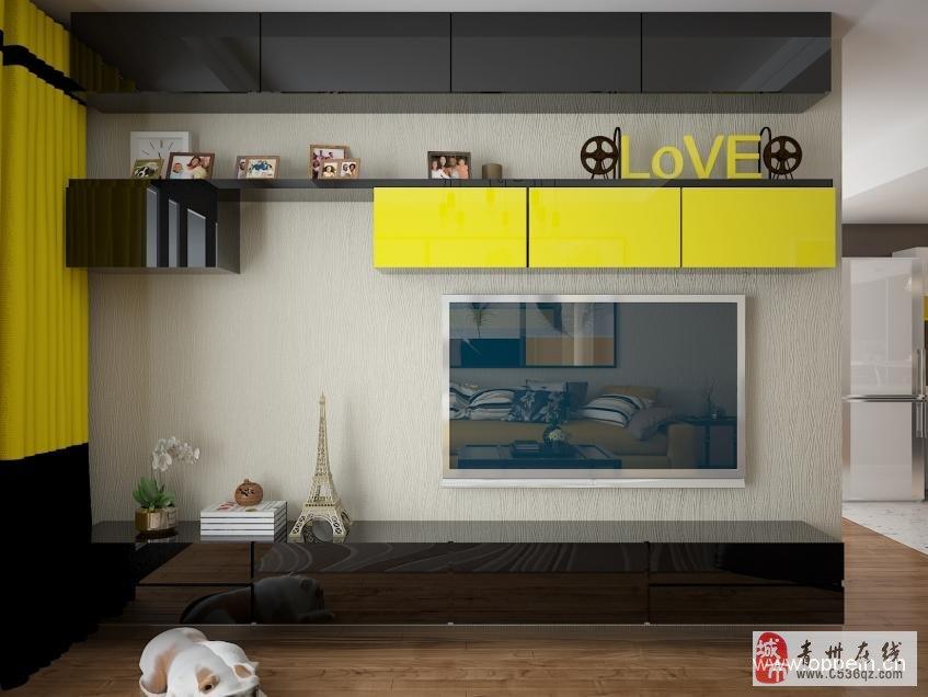 小户型装修中客厅电视背景墙装饰技巧