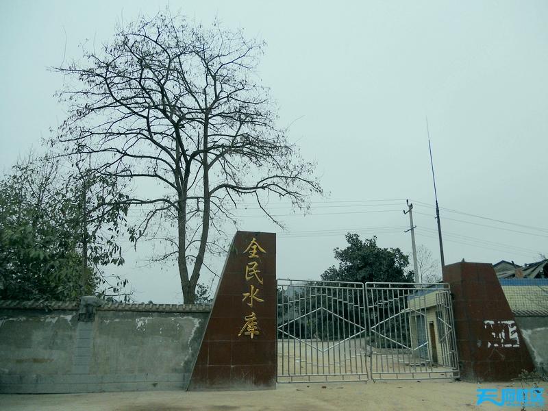 广安市全民水库图片