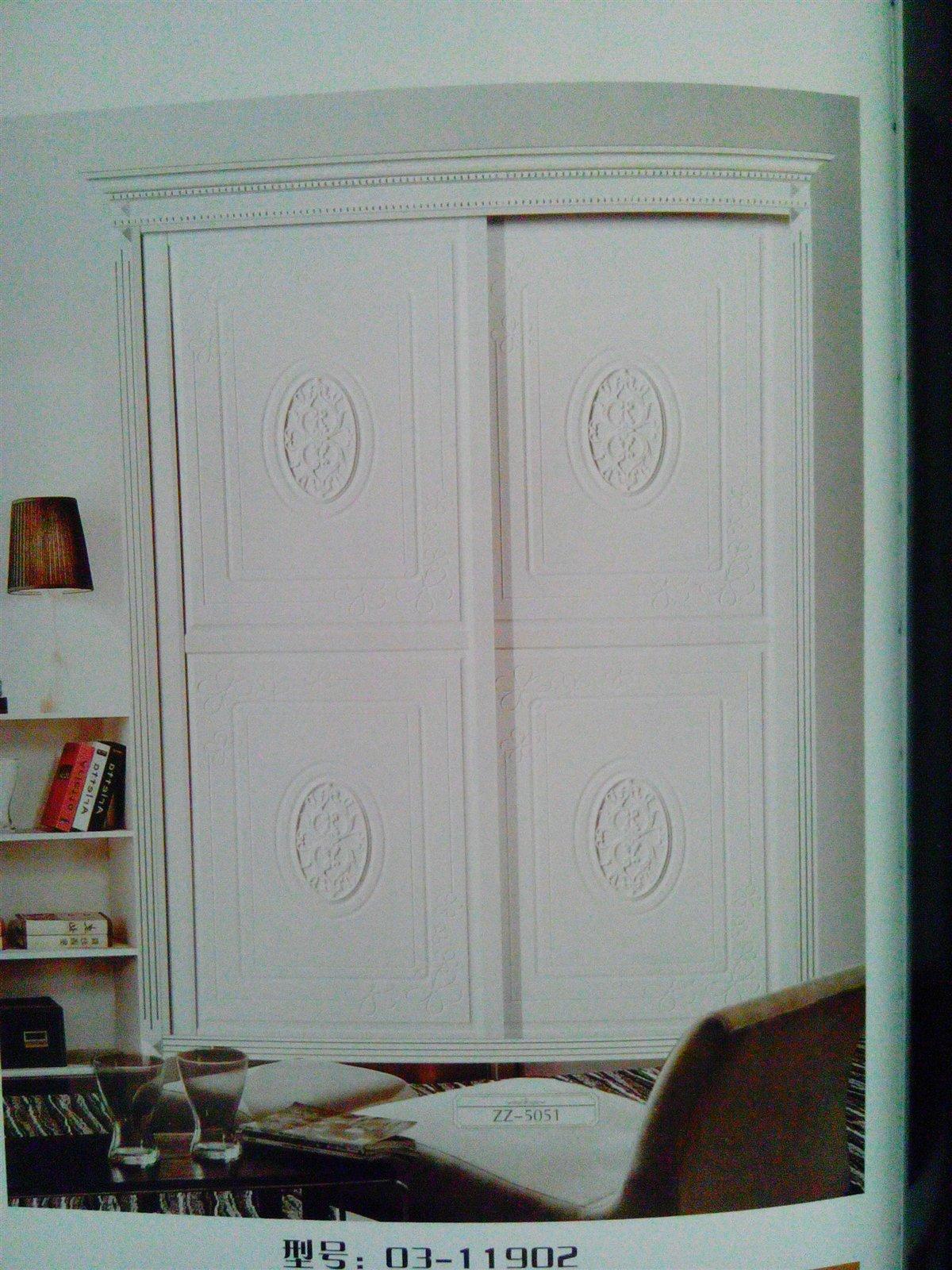 豪华衣柜门-吸塑雕刻系列