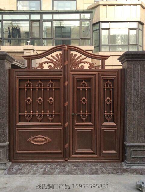 战氏铜门-欧式庭院院门