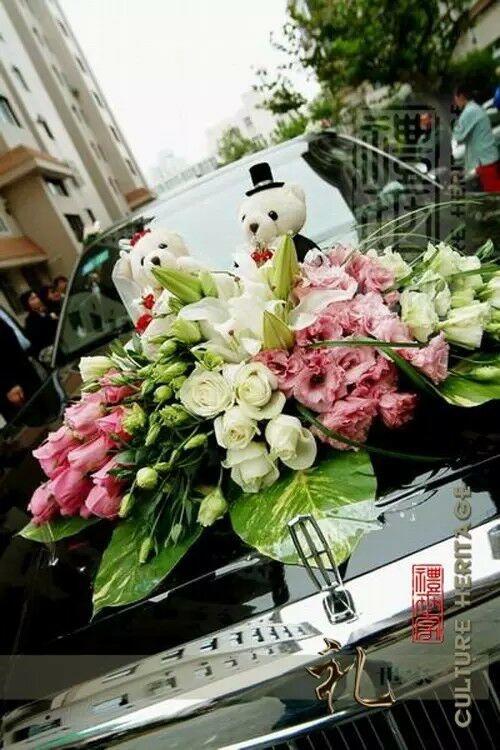 婚车花艺设计_网上逛街