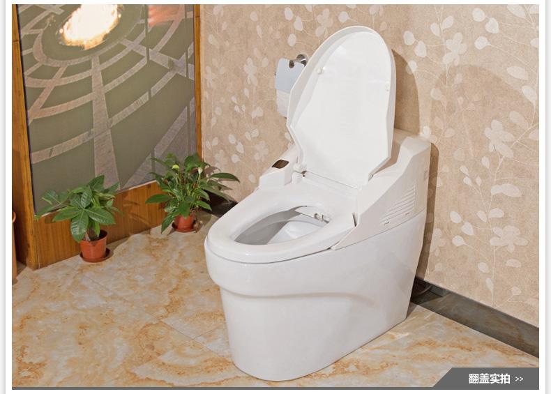 安华卫浴一体智能马桶连体座便器自洁功能ab1380a