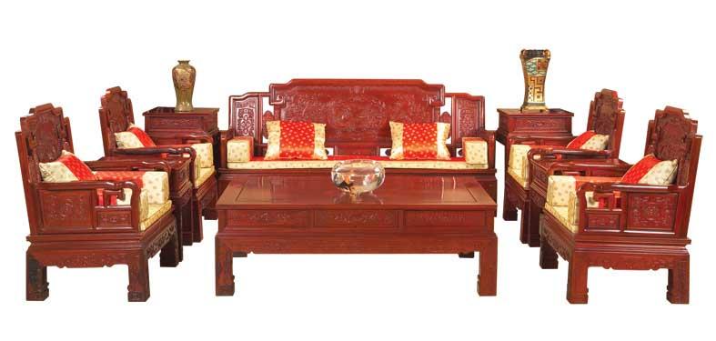 家居首页 商品列表 03 红木沙发10件套   价格面议 关注度: 商品