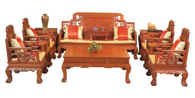 红木沙发10件套