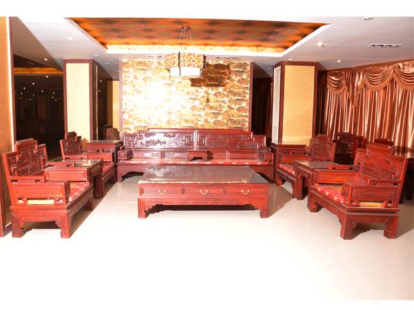 红木沙发十一件套